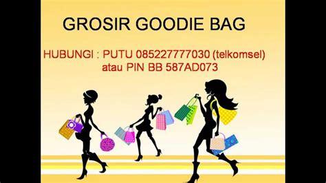 Custom Kulit Kanvas Goodie Bag Tote Bag Tas Jinjing 085227777030 telkomsel jual tas souvenir jual goodie