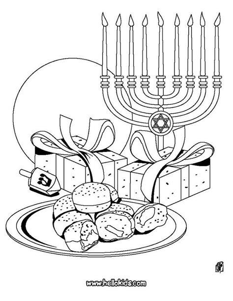 Coloring Pages Hanukkah | 17 images about hanukkah on pinterest menorah kids