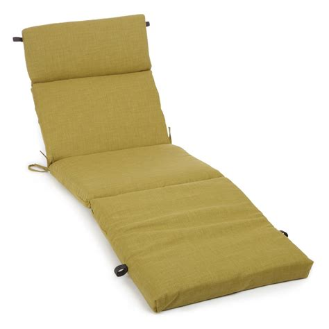 Outdoor Chaise Lounge Cushions Blazing Needles 72 X 24 In 3 Sectioned All Weather