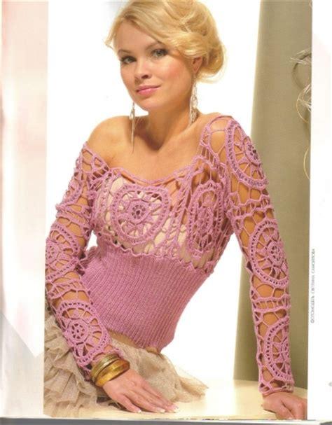 blusas tejidas a crochet con patron es patrones de blusas tejidas en crochet com portal