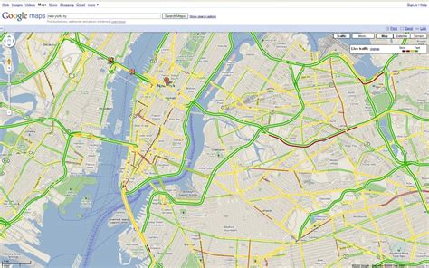 nyc traffic map image maps traffic new york area size 1024 x 640 type gif posted on august 26