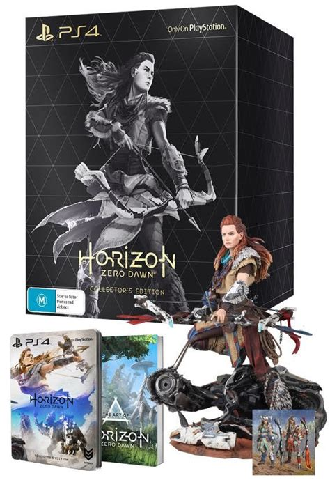 horizon zero dawn collectors horizon zero dawn collector s edition ps4 buy now at mighty ape australia