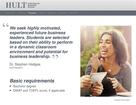 Hult International Business School Mba Requirements by Hult International Business School Masters Overview 2012