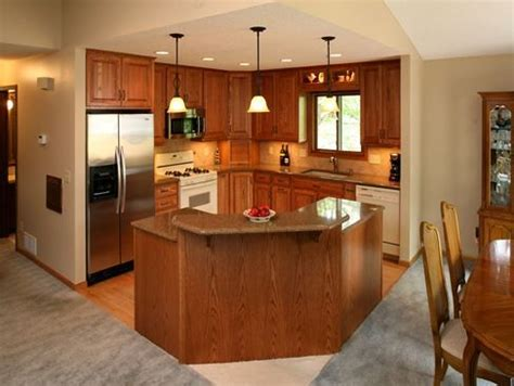 split level kitchen island bi level kitchen remodels kitchen remodeling improve