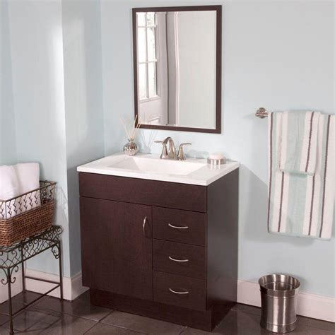 St Paul Bathroom Vanities by St Paul Vanguard 30 In Vanity In With Alpine Vanity