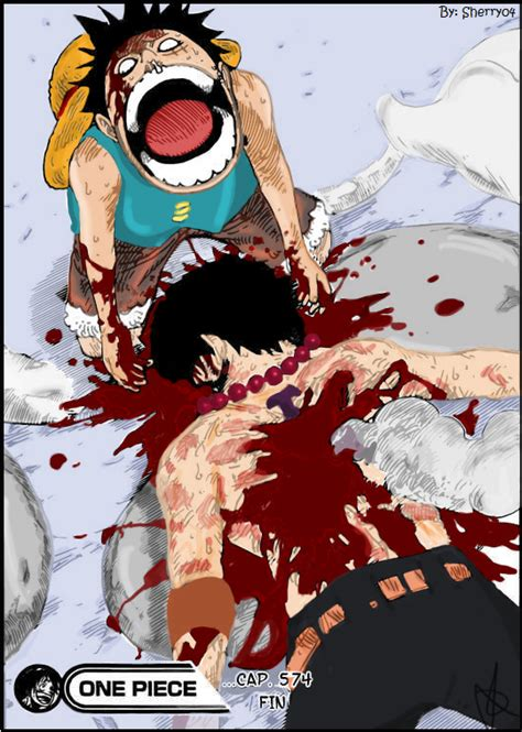 one piece ace death of ace one piece by sherry04 on deviantart