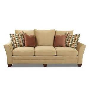 Curved Arm Sofa by Posen Collection Wolf And Gardiner Wolf Furniture