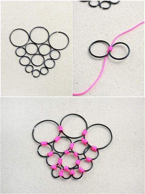 Handmade Jewellery Step By Step - personalized jewelry how to diy handmade necklace with