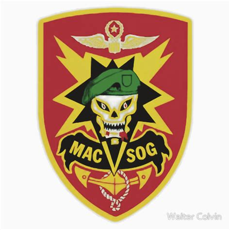 macv sog patch quot macv sog patch quot stickers by walter colvin redbubble