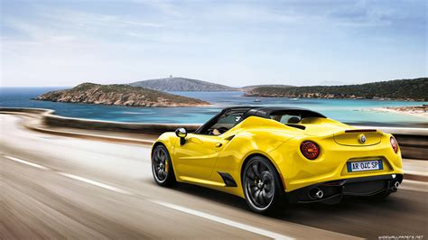 Romeo Car Wallpaper Hd by Alfa Romeo 4c Cars Desktop Wallpapers 4k Ultra Hd