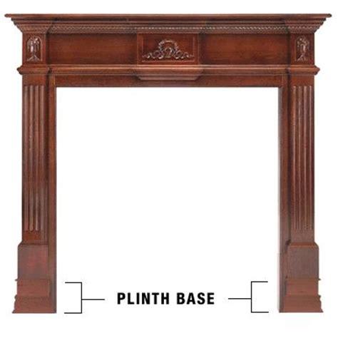 Fireplace Plinth by Pearl Mantels 602 Plinth 6 Quot Mantel Base Pair
