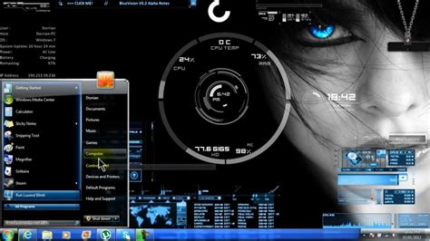 themes for windows 7 custom how to install custom windows 7 themes youtube
