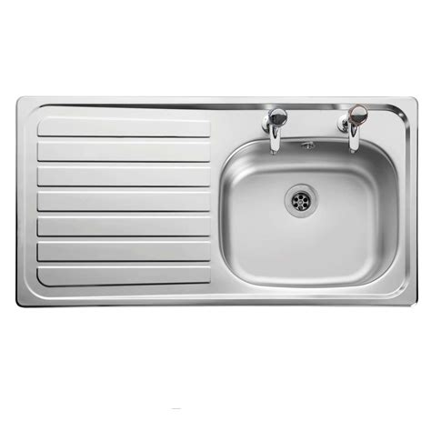 leisure lexin le95 stainless steel sink kitchen sinks