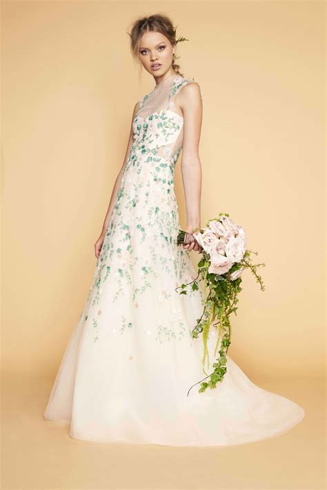 Weddings Flower Dresses by Wedding Dresses Photos High Neck Floral Gown By Sabrina