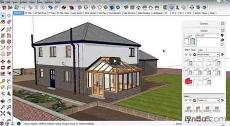 tutorial for sketchup 2016 sketchup 2016 creating the layout of a building
