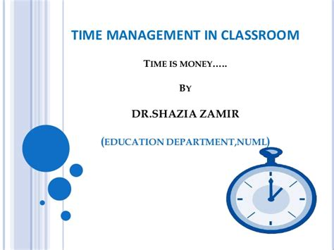 Management Activities For Mba Students In Classroom by Time Management Classroom Activity