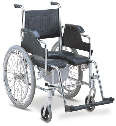 Shower Wheelchairs by 3 In 1 Commode Wheelchair Bedside Toilet Shower Chair Rust Free Aluminum Frame Ebay