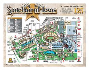 state fair texas map state fair the neel
