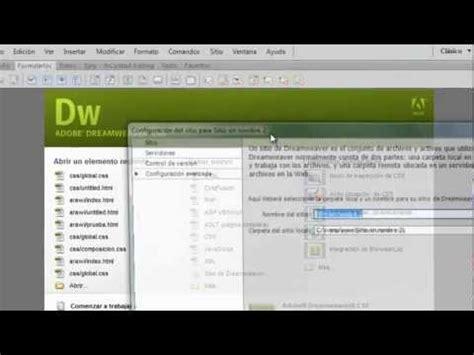 tutorial flash dreamweaver insertar una animacion de flash a una pagina web funnydog tv