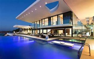 House With Pools modern house with a pool wallpaper 15037