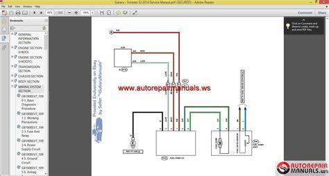 car maintenance manuals 2012 subaru forester parking system subaru forester sj 2014 service manual auto repair manual forum heavy equipment forums