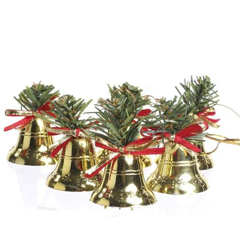 small brass bell christmas ornaments on sale holiday