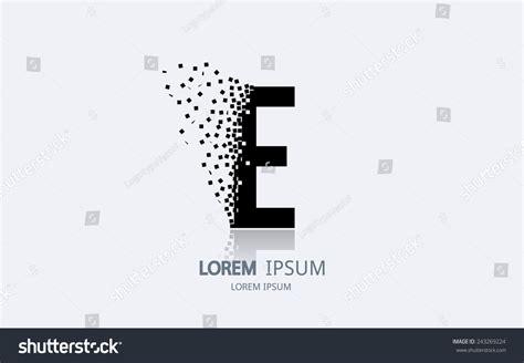 e design letter e logo alphabet logotype vector stock vector