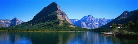 nature lake reflection mountain wallpapers hd desktop