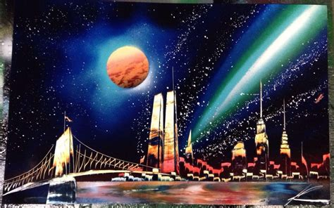 spray paint cityscape compare prices on nyc skyline painting shopping