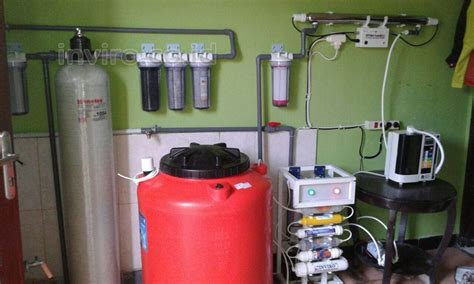 Mesin Water Treatment Pemasangan Filter Wtp Untuk Pretreatment Mesin Kangen Water
