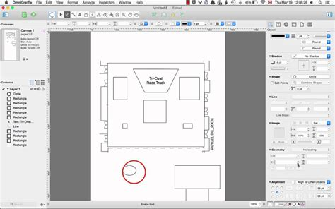 making a floor plan with omnigraffle youtube