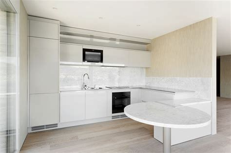 classy curves simple handle free contemporary cabinetry handleless kitchens
