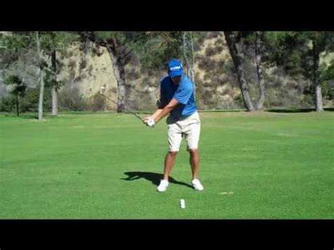 how to get rhythm in golf swing golf swing with rhythm and flow youtube