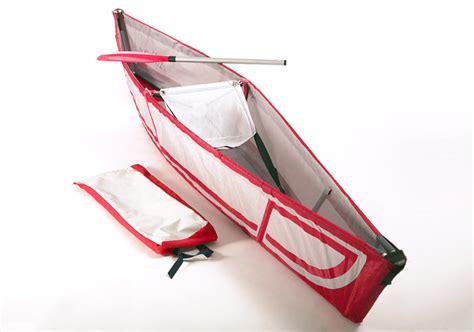 folding boat backpack adhoc canoe folds into backpack for storage