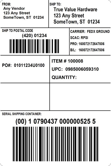 Blank Shipping Label Template Bing Images Test Label Template