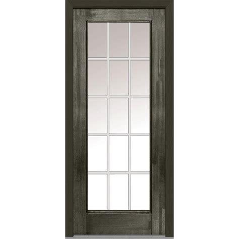 32 X 72 Exterior Door Mmi Door 32 In X 80 In Grilles Between Glass Left