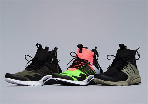 Nike Presto Mid Acronym Acronym X Nike Air Presto Mid Collection Sneaker Bar Detroit
