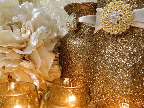 Gold Decorations by Weddings Wedding Decorations Winter Wedding Caramel By