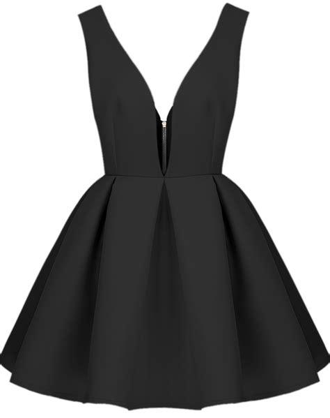 Mercer Black Skater Flared Dress black faille v neck backless midriff flare dress shein