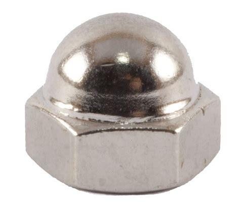 10 24 Cap Nut - 10 24 cap nut nickel fmw fasteners