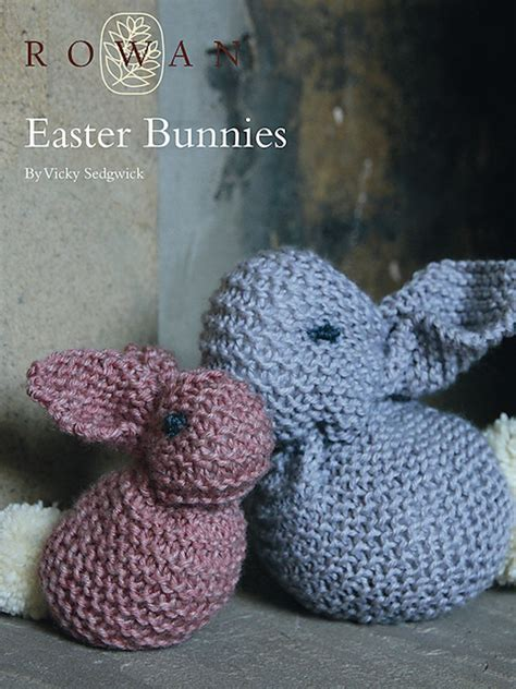 knitting pattern easter bunny easter themed knitting patterns