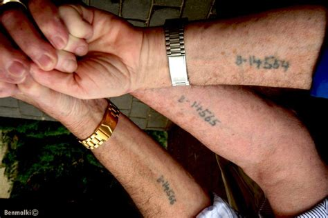 nazi tattoo numbers 3 survivors that never met until 2006 history forget