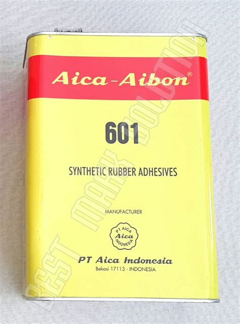 jual lem aica aibon 601 2500 gram 2 5kg galon gallon di lapak best solution