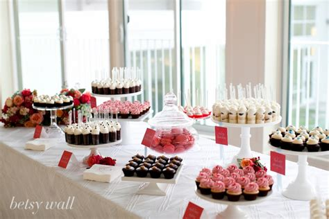 cocoa & fig: Miniature Dessert Table: Jenn & Jason