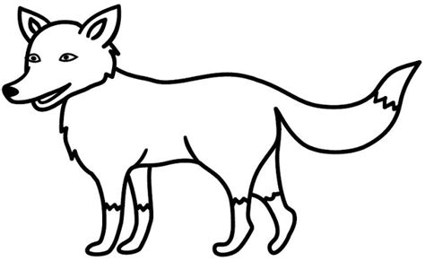 dibujos para colorear zorro dibujos de zorros infantiles imagui