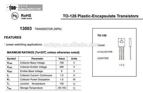 transistor bc557 hoja de datos yoreparo solucionado necesito hoja de datos de transistor jr13003a