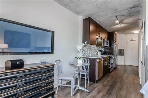 Micro Apartment In Chicago Micro Apartment Furnished Model Opens At Gateway West Loop