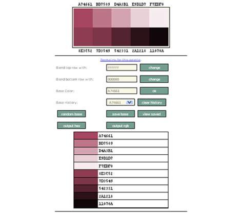 online color palette maker a compilation of online color generator tools for