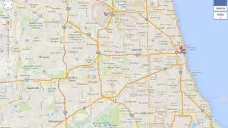 Google Maps Chicago Il by Google Maps Chicago Illinois Myideasbedroom Com