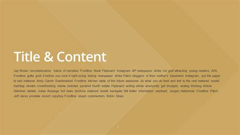golden powerpoint themes slideist free golden powerpoint template